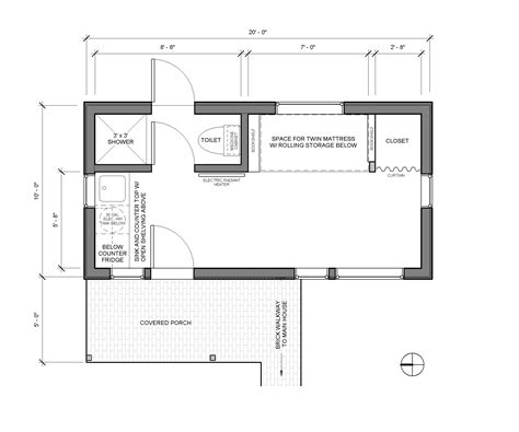 tiny house floor plans 10x12 small guest house floor plans one story house plans