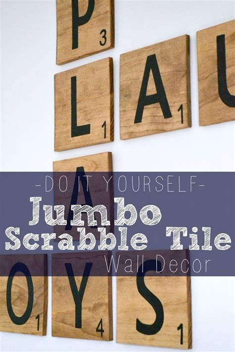 scrabble letters for the wall bourne southern diy jumbo scrabble tile wall decor arts