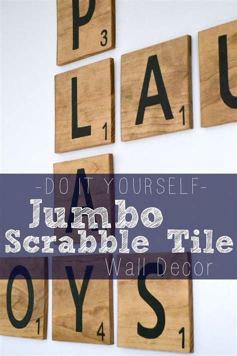 diy scrabble wall bourne southern diy jumbo scrabble tile wall decor arts