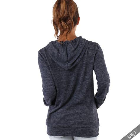 womens knitted hoodie womens soft marl knit hoodie hooded baggy jumper
