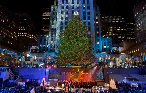 new trees 2014 when is the 2014 rockefeller center tree