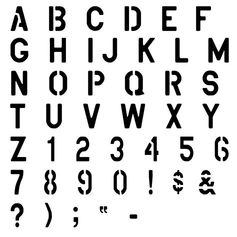spray paint font lowercase free printable alphabet stencils view image design