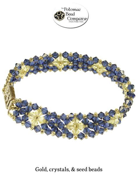 potomac bead co blazing bicones bracelet from potomac bead company http