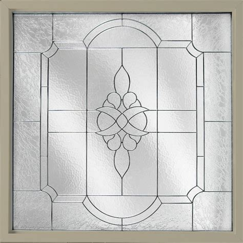 decorative glass hy lite 47 5 in x 47 5 in decorative glass fixed vinyl