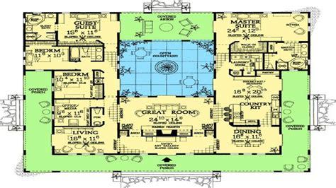 mediterranean house plans style home plans with courtyards mediterranean