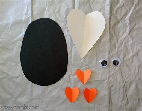 penguin crafts for paper penguin craft for crafty morning