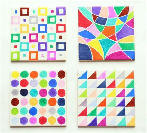 tile craft projects make sharpie tile via http www pippapatchwork