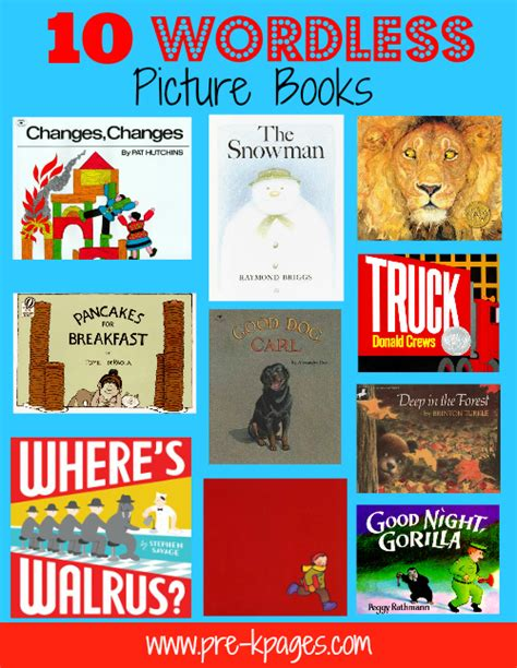 Bookinitat50 Wordless Picture Books