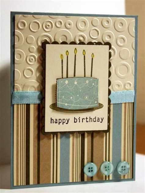 mens birthday cards to make masculine birthday cake by rbright cards and paper