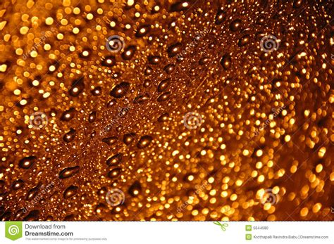 gold water tiny gold water drops stock photo image 5544580