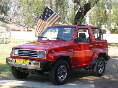 1990 Daihatsu Rocky by 1990 Daihatsu Rocky Photos Informations Articles