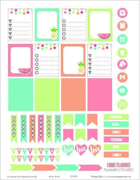 for free to print 15 free planner printables