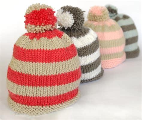 knitting bobble pattern easy baby bobble hat knitting pattern by sproglets kits