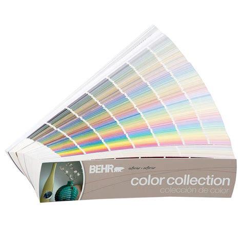 home depot paint fan deck behr 2 in x 9 in 1434 color fan deck 50004175 the home