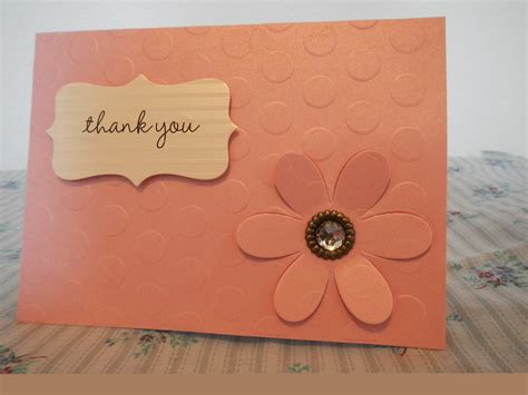 make handmade cards amazing handmade thank you card nationtrendz