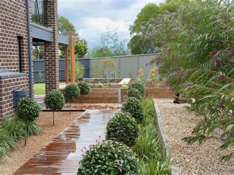 australian garden design ideas australian garden design using pebbles with deck