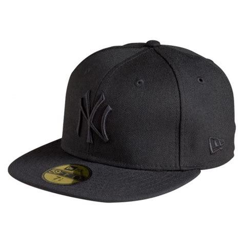 new era black on black new era new york yankees 59fifty black cap