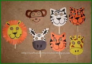 safari crafts for jungle safari birthday artsy momma