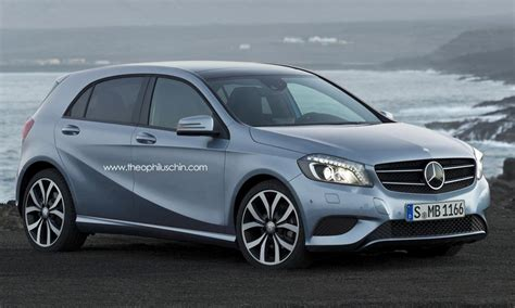 Mercedes Mini by Upcoming Mercedes Car Model To Compete With Mini
