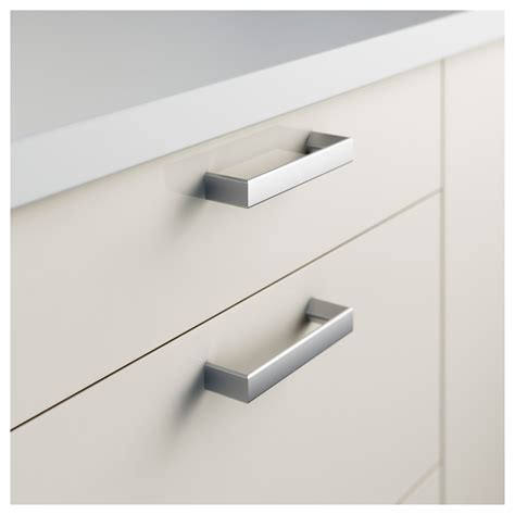 ikea kitchen cabinet handles tyda handle stainless steel 138 mm ikea