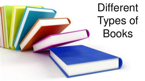 types of picture books different types of books