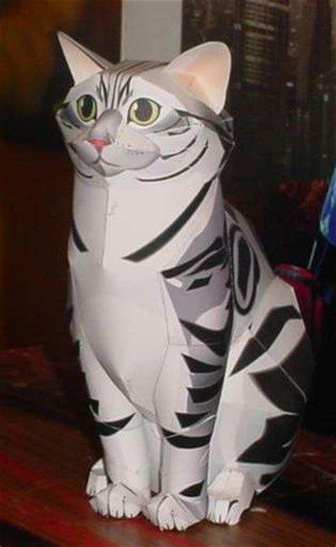 cat paper craft cat papercraft by paperart on deviantart