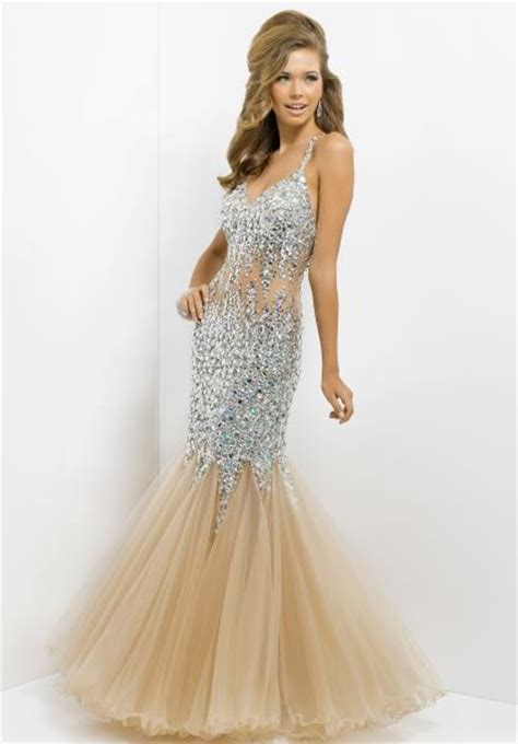 beaded blush dress blush fully beaded prom dress 9702