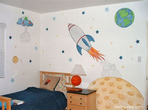 outer space wall mural space wall murals exles custom outer space wall murals