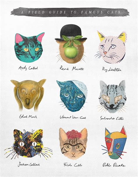 Quot A Field Guide To Cats Quot Elly Liyana Artwork On Useum
