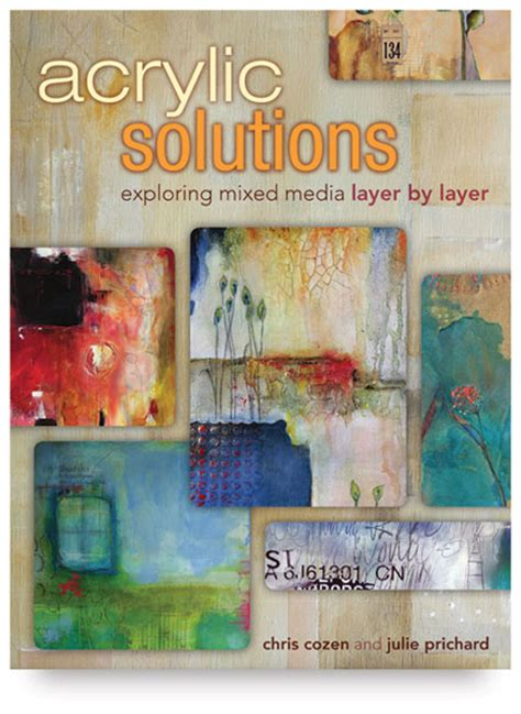 acrylic painting kit layer by layer acrylic solutions exploring mixed media layer by layer