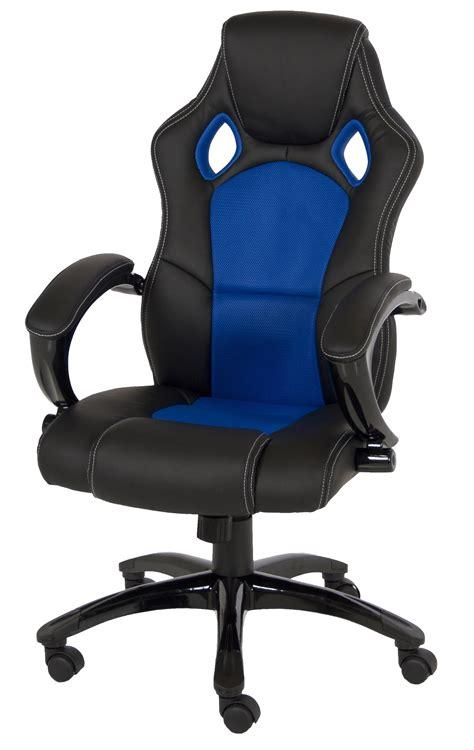 fauteuil de bureau design blanc noir drift