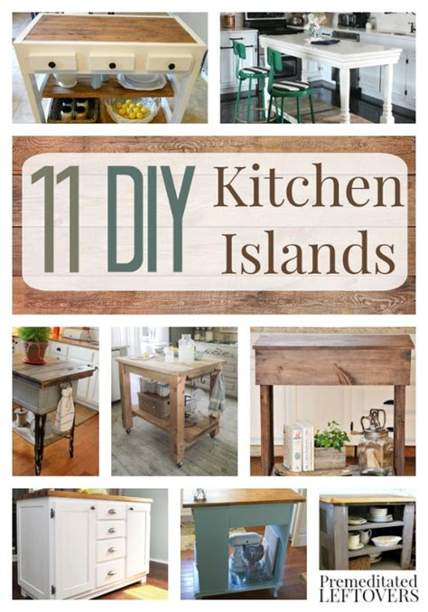 diy kitchen island ideas diy kitchen islands