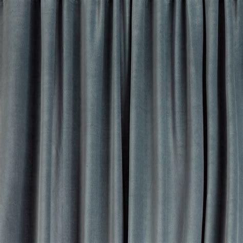 samana velvet curtain grey green