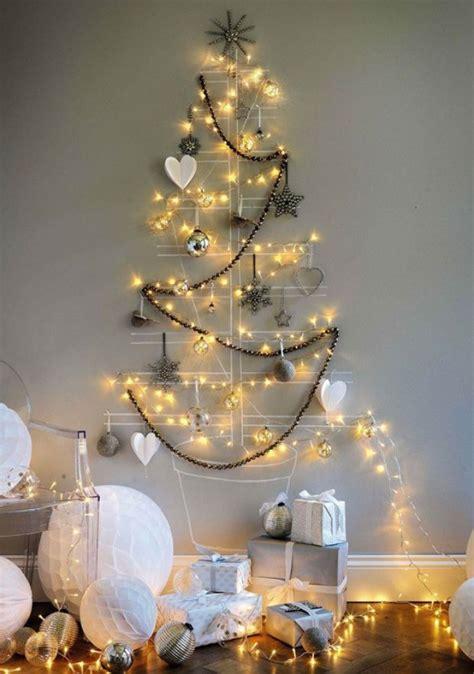 luces para el arbol de navidad 193 rboles de navidad para las paredes de casa un toque de