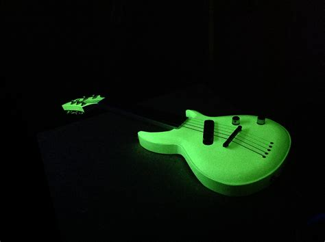 glow in the ibwant a glow in the guitar guitars m