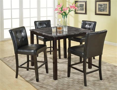 pub dining room set dining room orange chairs with table by dinette sets for 5pc picture white 5