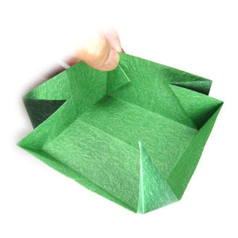 large origami box how to make a large square origami box page 9