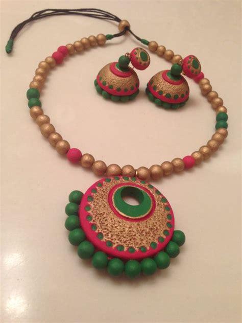 how to make terracotta jewelry image gallery terracotta jewellery