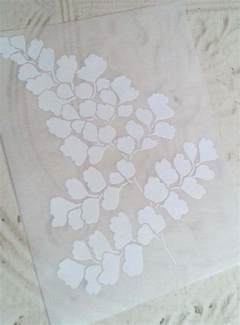embossing stencils for card handmade card embossing in in white on vellum