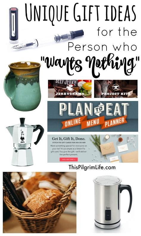 unique gift ideas unique gift ideas for the person who quot wants nothing