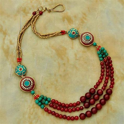 bead necklace ideas 25 best ideas about strand necklace on multi