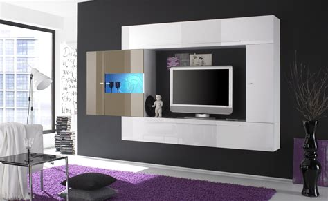 Wood Canopy Bed italian furniture wall units modern wall units italian