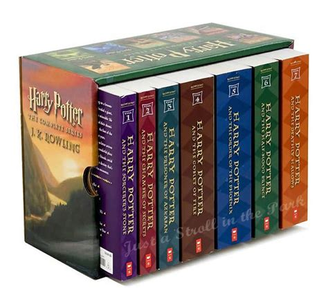complete sets harry potter complete series boxed set collection jk