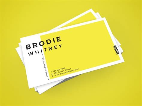 make visiting card design 25 best ideas about business card design on