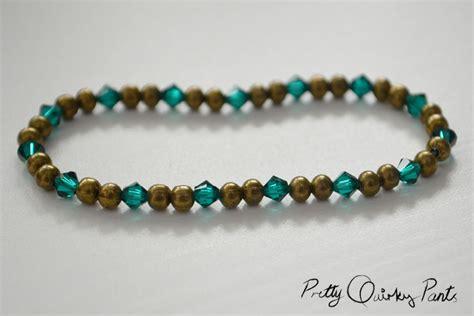 how to make stretch bead bracelets pretty diy stretch bead bracelet