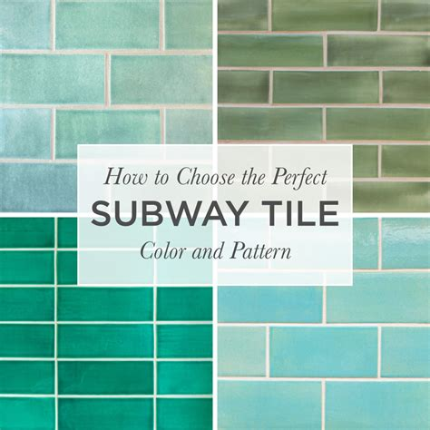 subway tile colors kitchen how to choose the subway tile color pattern