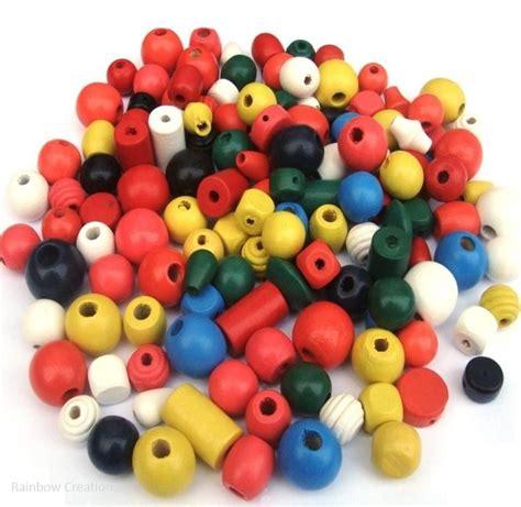 wooden bead children s chunky wooden for threading children s