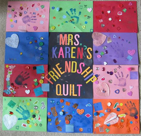 friendship crafts for mrs s preschool ideas q is for quilt