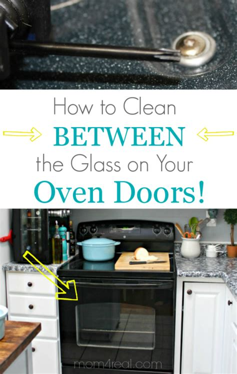 how to clean oven glass door remodelaholic make your own lazy susan