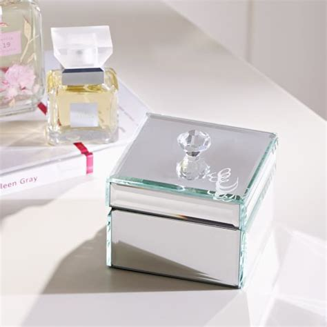 how to make a small jewelry box mirrored small jewelry box pbteen